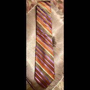 Stacy Adams Multicolored Striped (XL) Tie